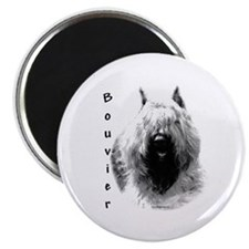 Bouvier Charcoal Magnet