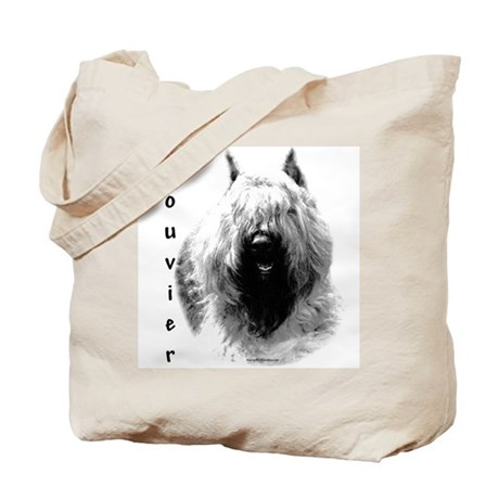 Bouvier Charcoal Tote Bag