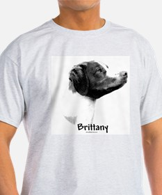 Brittany Charcoal Ash Grey T-Shirt