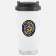 Nebraska Masons Travel Mug