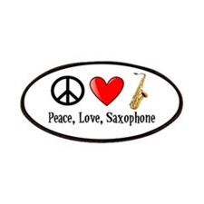 Peace, Love, and Saxophone Patches
