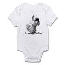 Brussels Charcoal Infant Bodysuit
