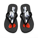 Havanese Flip Flops
