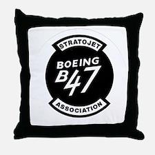 B-47 STRATOJET ASSOCIATION LOGO Throw Pillow