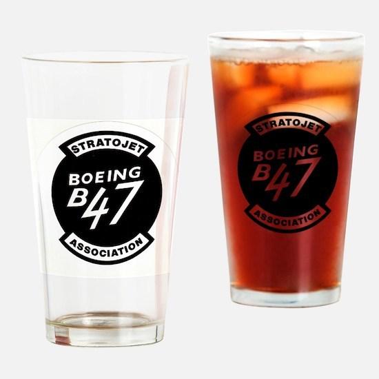 B-47 STRATOJET ASSOCIATION LOGO Drinking Glass