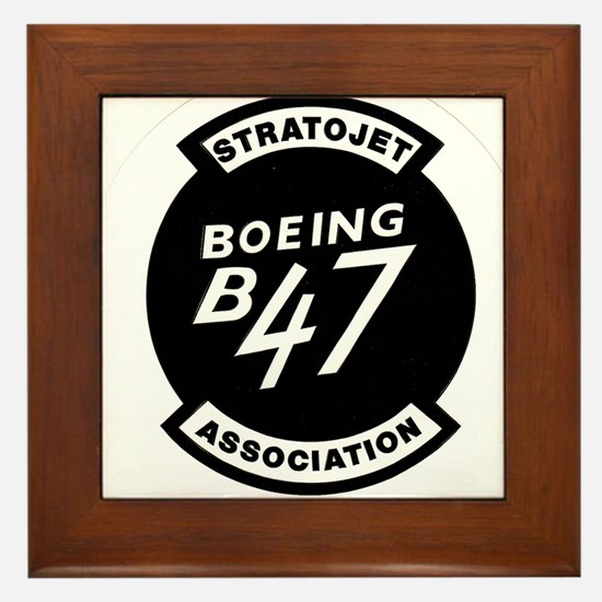 B-47 STRATOJET ASSOCIATION LOGO Framed Tile