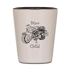 Biker Child Shot Glass