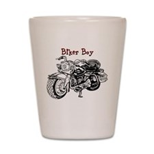 Biker Boy Shot Glass