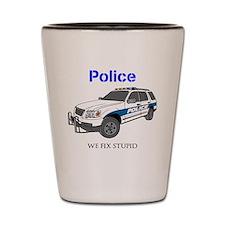 Police Shot Glass