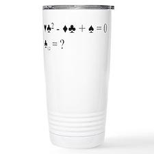 Bridge quadratic equation Travel Mug