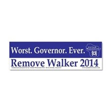 Worst. Governor. Ever. Car Magnet 10 x 3