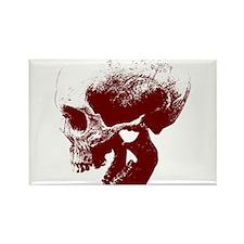 Skull Rectangle Magnet (10 pack)