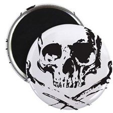 Skull and Bones Magnet