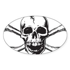 Skull and Bones Decal