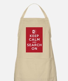 Keep Calm and Search On (High Angle Teams) Apron