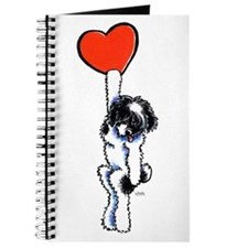 Black Parti Havanese Heart Journal