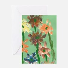 Christophers Flowers. Greeting Card