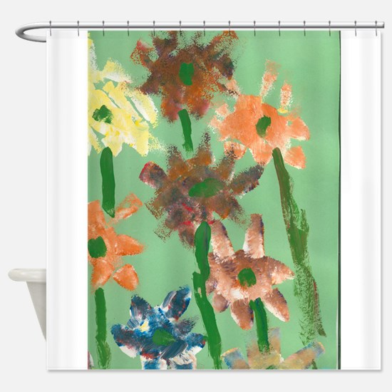Christophers Flowers. Shower Curtain