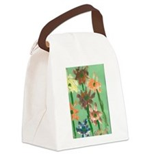 Christophers Flowers. Canvas Lunch Bag