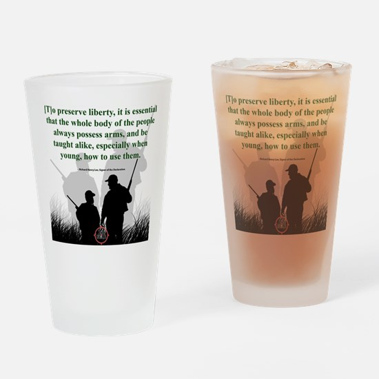 Hunting Generations Drinking Glass