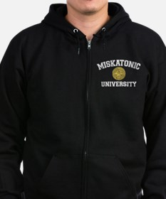 Miskatonic University - Zip Hoodie (dark)