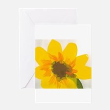 Christophers Sunflower. Greeting Card