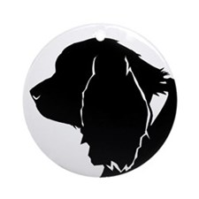 Sussex spaniel silhouette Ornament (Round)