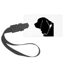 Sussex spaniel silhouette Luggage Tag