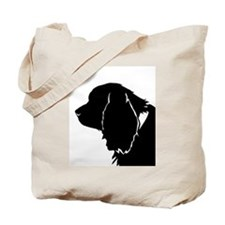Sussex spaniel silhouette Tote Bag