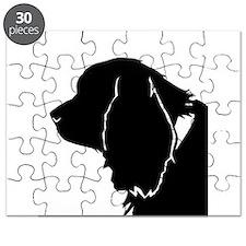 Sussex spaniel silhouette Puzzle