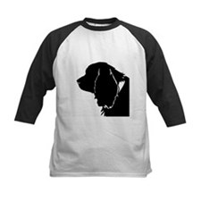 Sussex spaniel silhouette Baseball Jersey