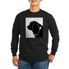 Sussex spaniel silhouette Long Sleeve T-Shirt