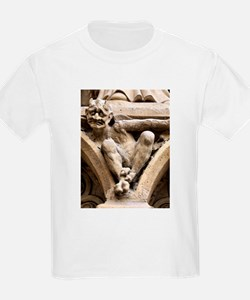 Notre Dame bestiary in Paris, France T-Shirt