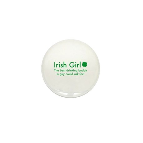 Irish Girl Mini Button (10 pack)