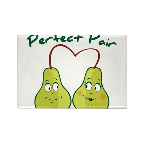 Perfect Pair Rectangle Magnet