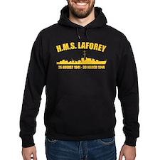 HMS Laforey - Gold Hoodie