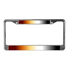 License Plate Frame - Bear Fading