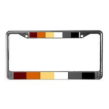 License Plate Frame - Bear Sharp