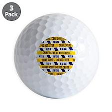 Crime scene tape - Golf Ball