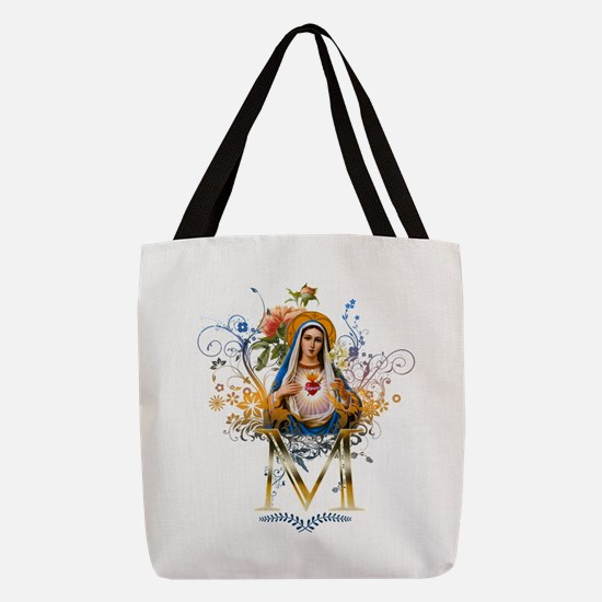 Immaculate Heart of Mary Polyester Tote Bag