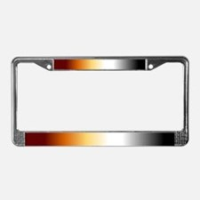License Plate Frame - Bear Fading