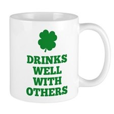 Drinks Well With Others Small Mugs