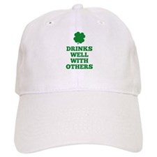 Drinks Well With Others Baseball Cap