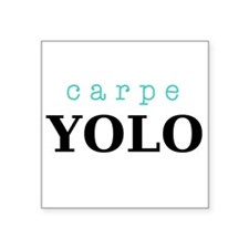 Carpe YOLO Sticker
