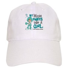 Fights Like a Girl 42.9 Cervical Cancer Hat