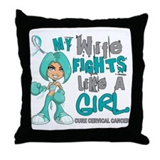 Fights Like a Girl 42.9 Cervical Cancer Throw Pill