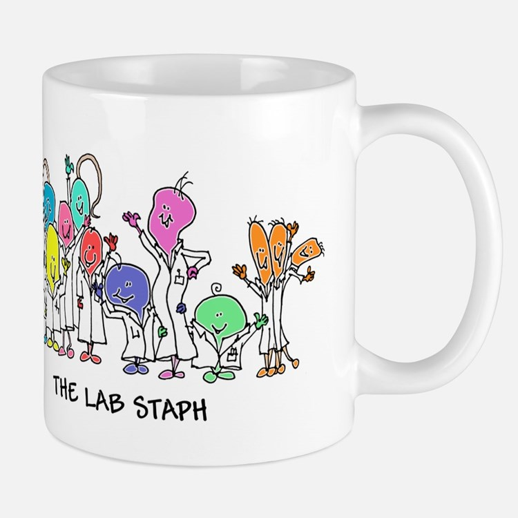 The Lab Staph Small Mugs