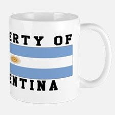 Property Of Argentina Mug