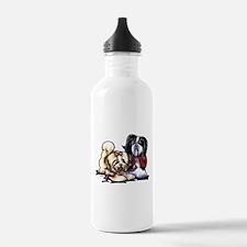Havanese Playmates Water Bottle