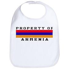 Property Of Armenia Bib